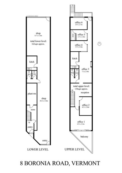 1st Floor/8 Boronia Road VERMONT VIC 3133