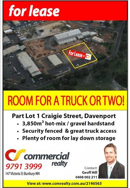 Part Lot 1 Craigie Street DAVENPORT WA 6230