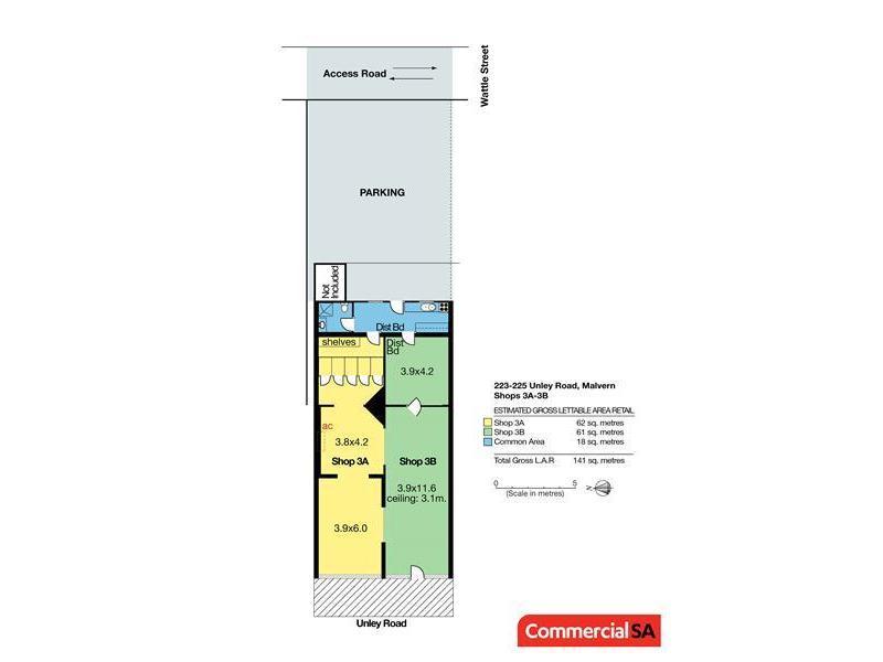 Shop 3A, 223-225 Unley  Road MALVERN SA 5061