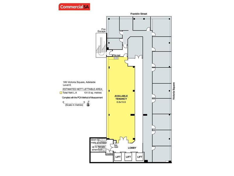 Portion of Level 6, 185 Victoria Square ADELAIDE SA 5000