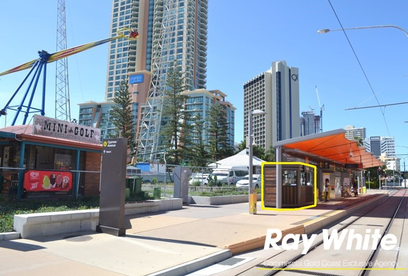 Kiosk 8 Cypress Avenue Station, Gold Coast Light Rail SURFERS PARADISE QLD 4217