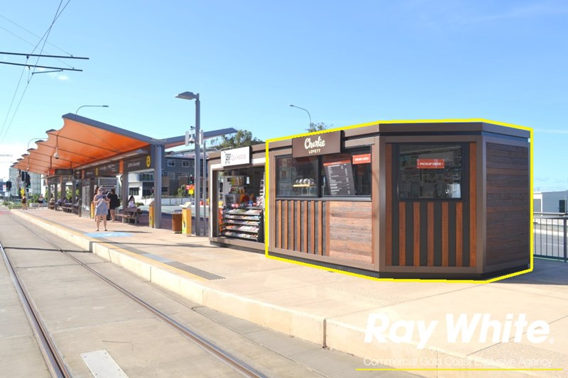 Kiosk 5 Griffith University,Gold Coast Light Rail Station PARKWOOD QLD 4214