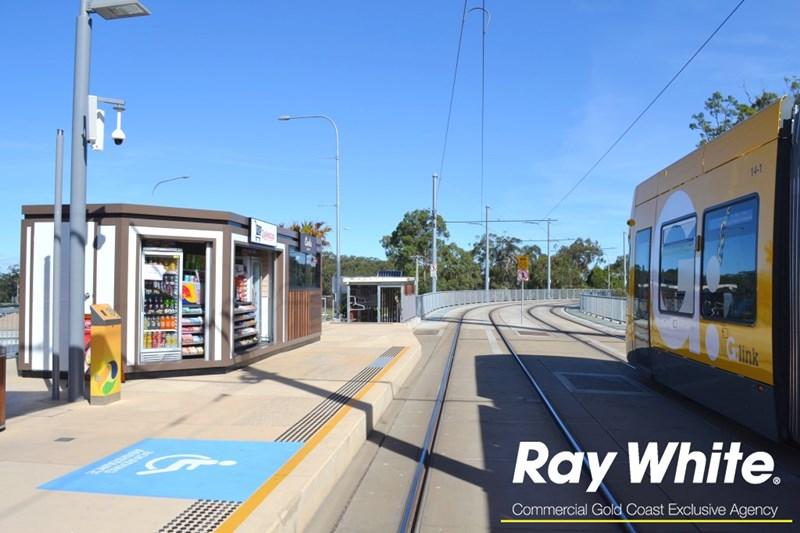 Kiosk 5 Griffith University,Gold Coast Light Rail Station PARKWOOD QLD 4214
