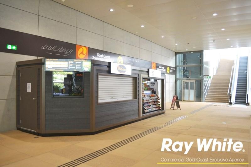 Kiosk 2 University Hospital,Gold Coast Light Rail Station PARKWOOD QLD 4214