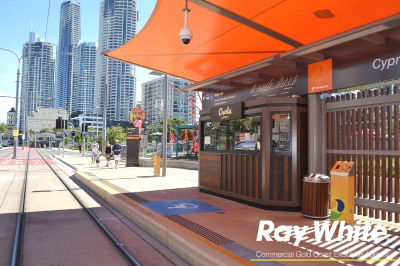 Kiosk 8 Cypress Avenue Station, Gold Coast Light Rail SURFERS PARADISE QLD 4217
