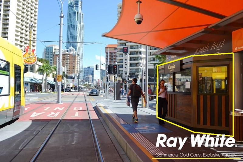 Kiosk 10 Cavill Avenue Station, Gold Coast Light Rail SURFERS PARADISE QLD 4217