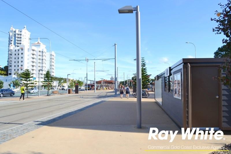 Kiosk 13-14 Broadbeach South Station, Gold Coast Light Rail BROADBEACH QLD 4218
