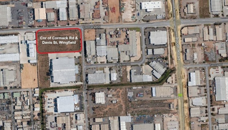 Corner Cormack Road & Davis Street WINGFIELD SA 5013