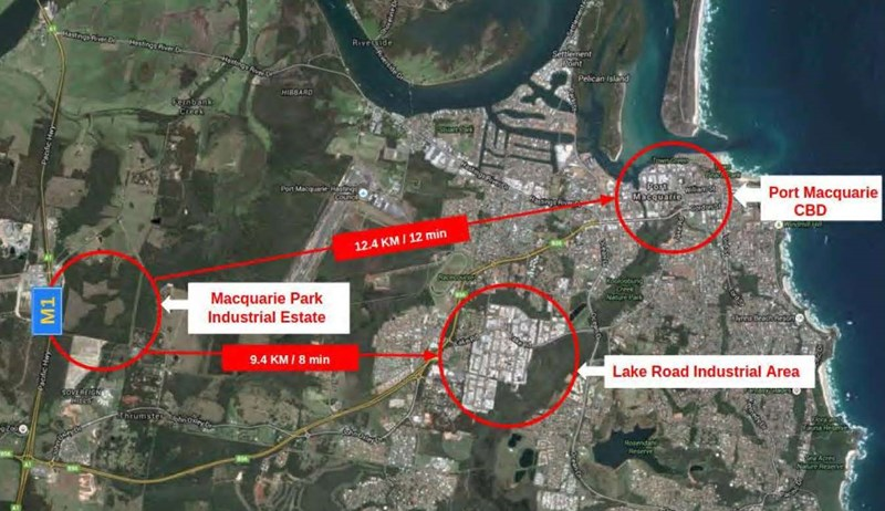 Lots 1 to 46 Macquarie Park Industrial Estate PORT MACQUARIE NSW 2444