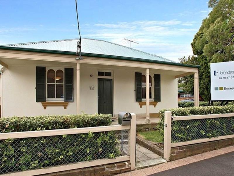 12 Grose Street PARRAMATTA NSW 2150