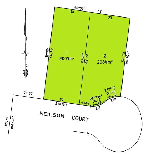 Lot 1 & 2 Neilson Court WARRAGUL VIC 3820