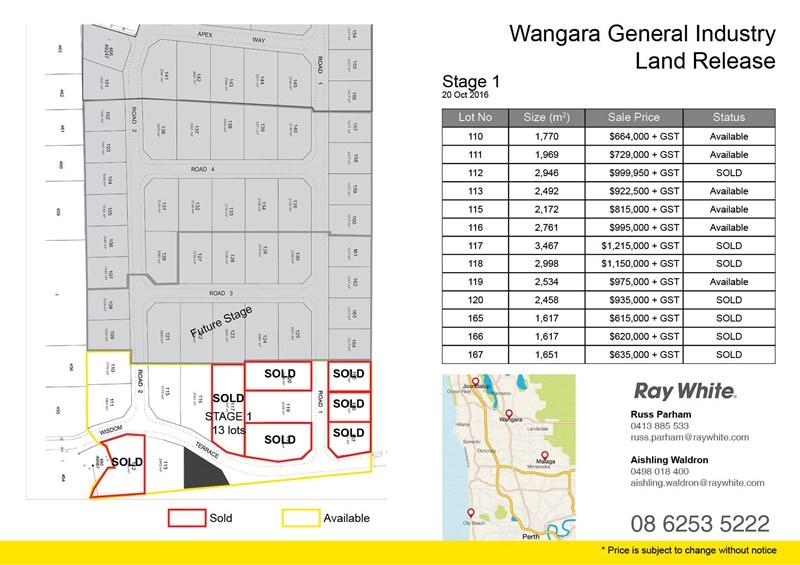 Lot 165 Off Distinction Road WANGARA WA 6065