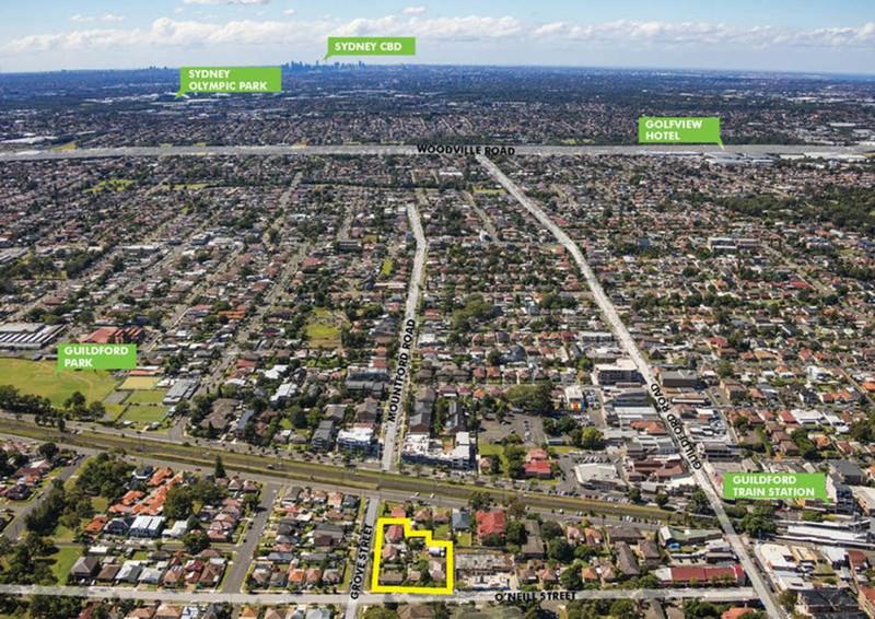 64-68 O'Neill Street & 2-4 Grove Street GUILDFORD NSW 2161