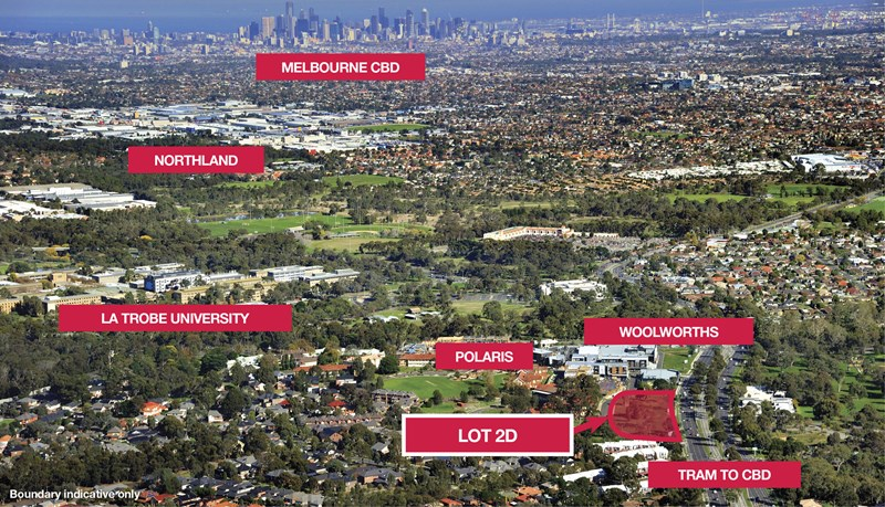 Lot 2D Polaris Estate, Plenty Road BUNDOORA VIC 3083