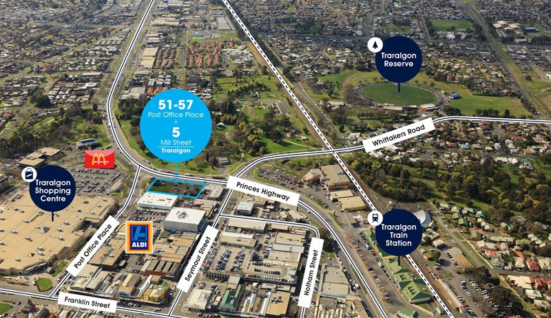 51-57 Post Office Place & 5 Mill Street TRARALGON VIC 3844
