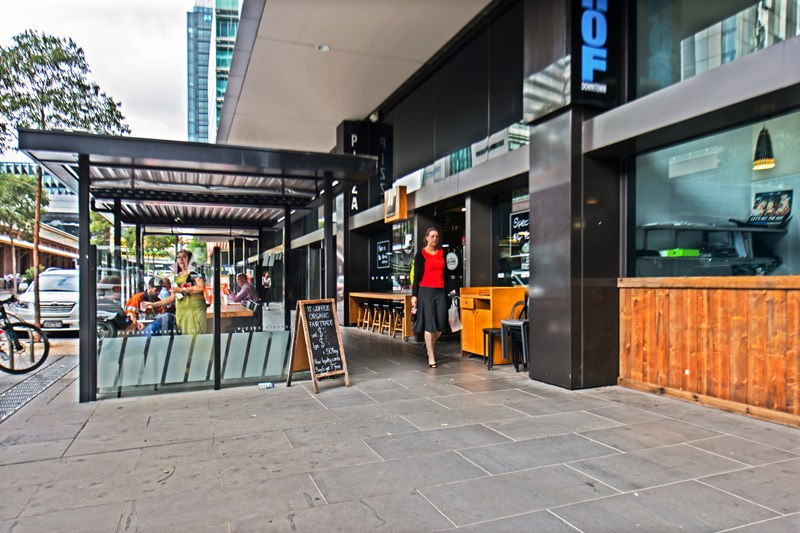 Bourke Street Docklands Cafe