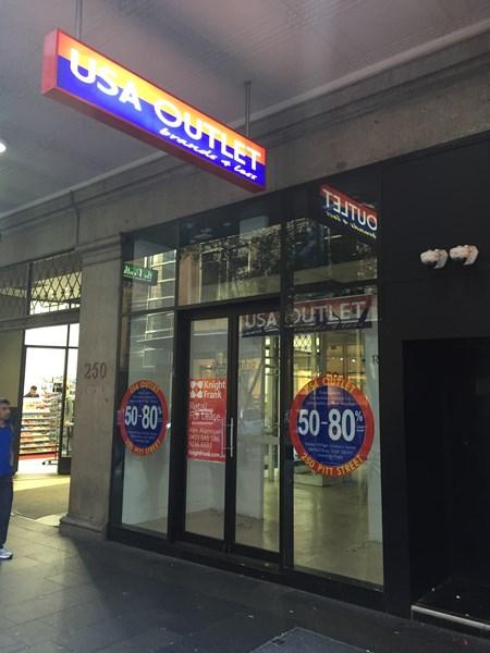 Shop 9/250 Pitt Street SYDNEY NSW 2000