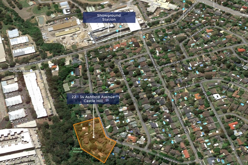 22-34 Ashford Avenue CASTLE HILL NSW 2154
