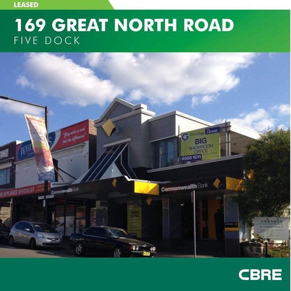 169 Great North Road FIVE DOCK NSW 2046