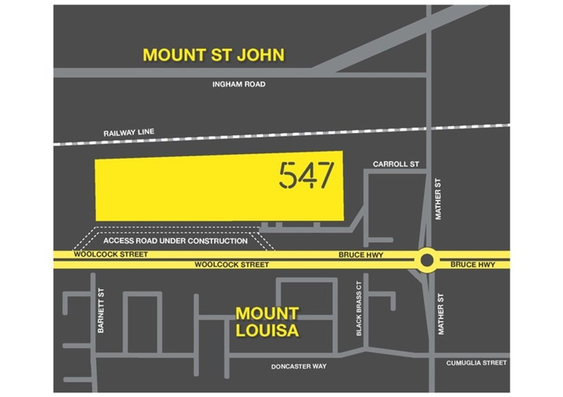 547 INDUST/547 Woolcock Street MOUNT LOUISA QLD 4814