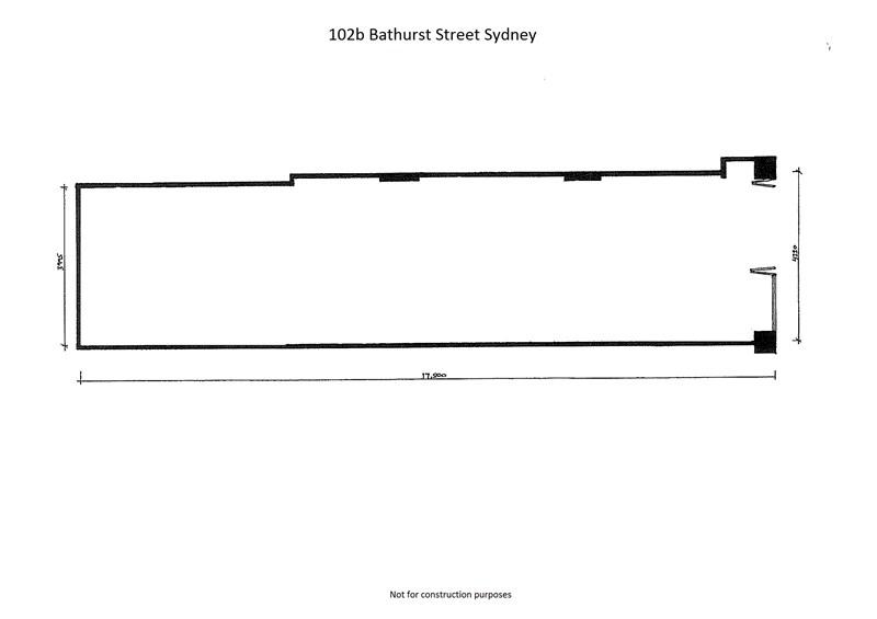 Shop 102B Bathurst Street SYDNEY NSW 2000
