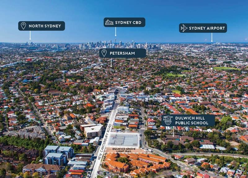 474 - 480 New Canterbury Road & 34 - 40 Hercules Street DULWICH HILL NSW 2203