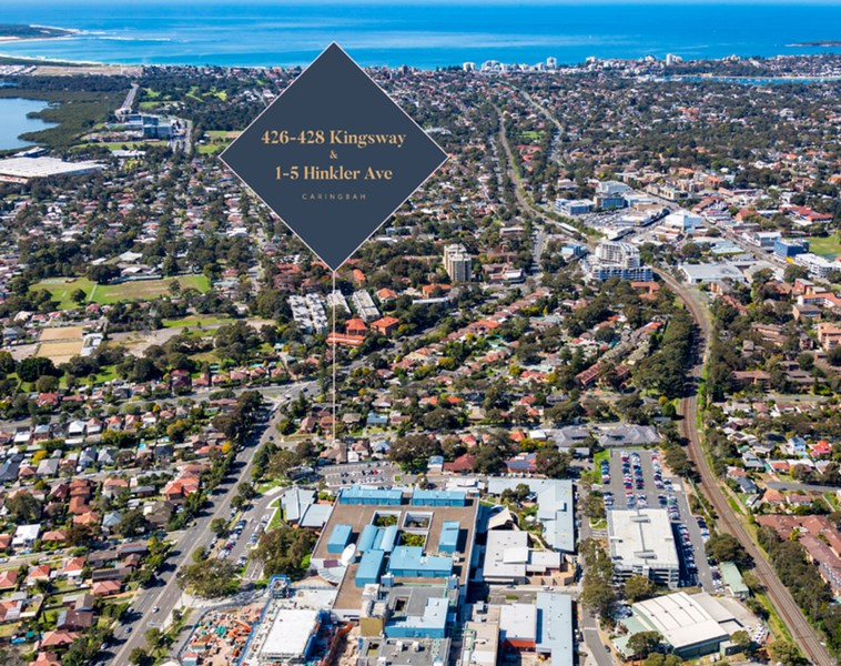 426-428 Kingsway and 1-5 Hinkler Avenue CARINGBAH NSW 2229
