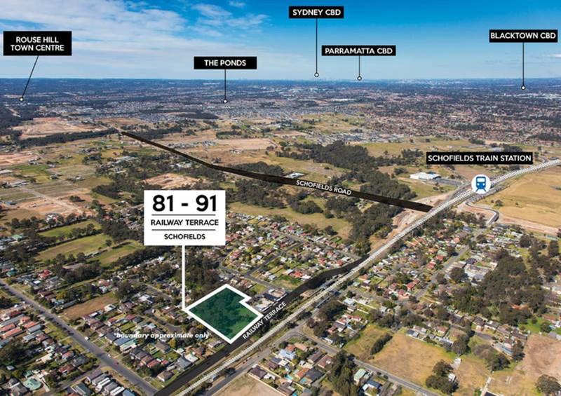81 - 91 Railway Terrace SCHOFIELDS NSW 2762