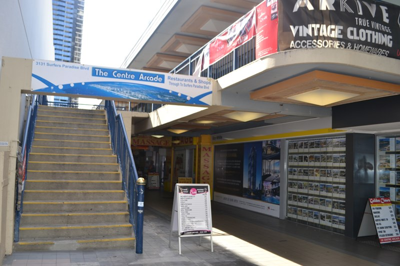Suite 45 Centre Arcade, 3131 Gold Coast Highway SURFERS PARADISE QLD 4217