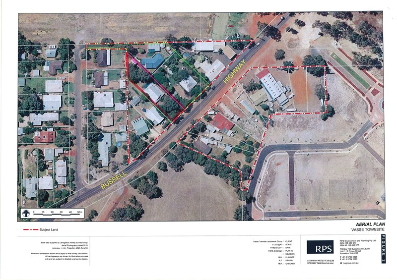 6028, 6030 Bussell Hwy and 13 Newtown Close VASSE WA 6280