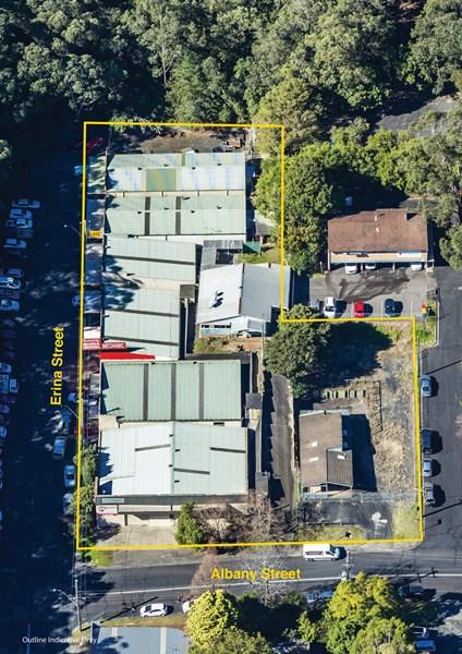 141-143 Erina St andamp; 221-225 Albany St GOSFORD NSW 2250