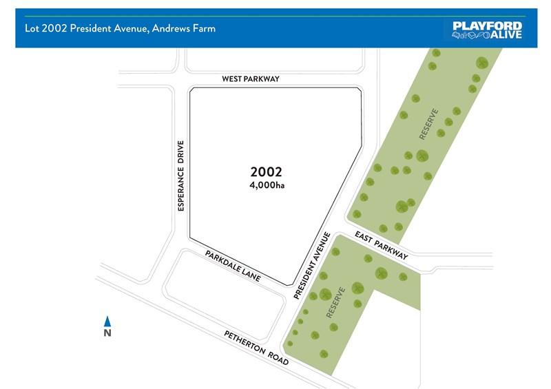 Lot 2002 President  Avenue ANDREWS FARM SA 5114
