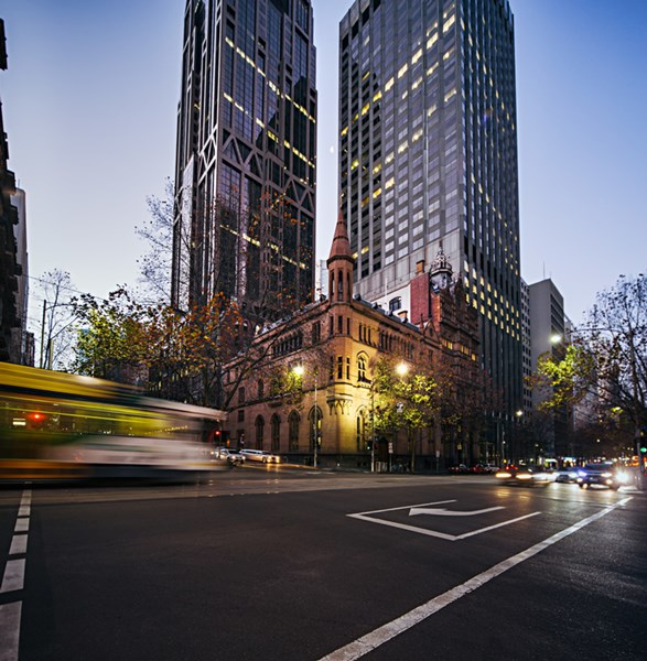 ANZ Tower/Corner Collins and Queen Streets MELBOURNE VIC 3000
