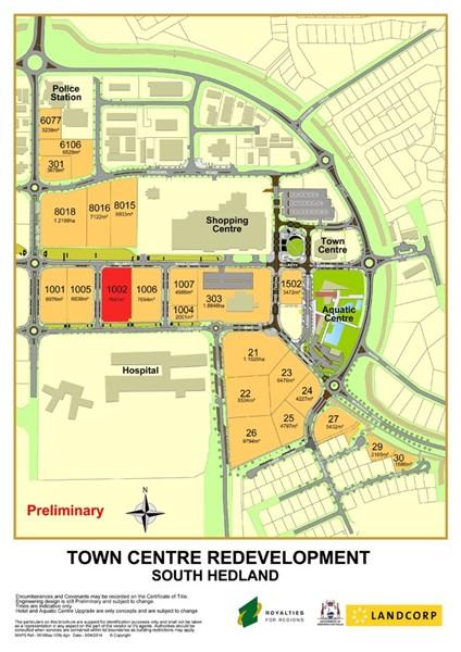 Lot 1002 McLarty Boulevard SOUTH HEDLAND WA 6722