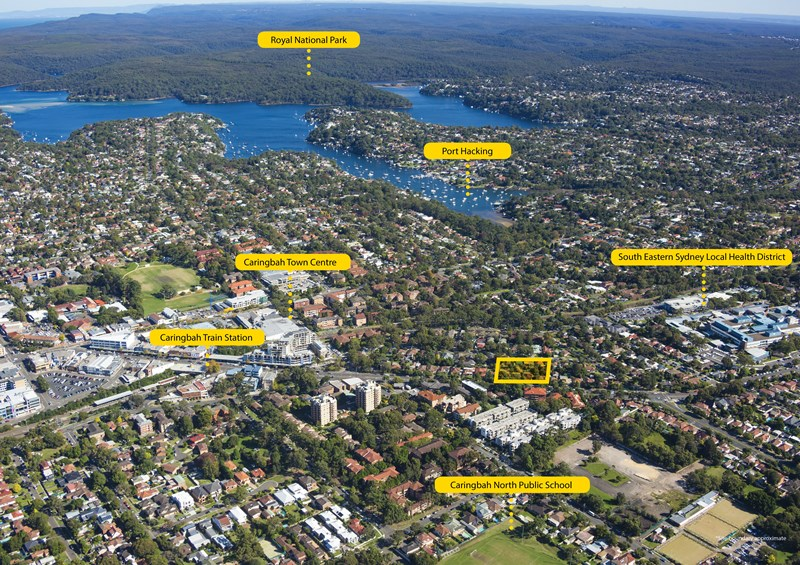 396-402 Kingsway and 21-27 Flide St CARINGBAH NSW 2229
