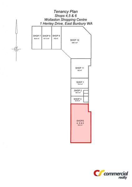 Shop 4,5&6/Cnr Picton Road and Henley Drive EAST BUNBURY WA 6230
