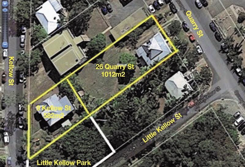 26 Quarry St and 9 Kellow St THE RANGE QLD 4700